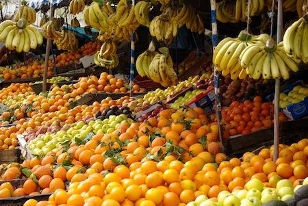 Banana Produce Section