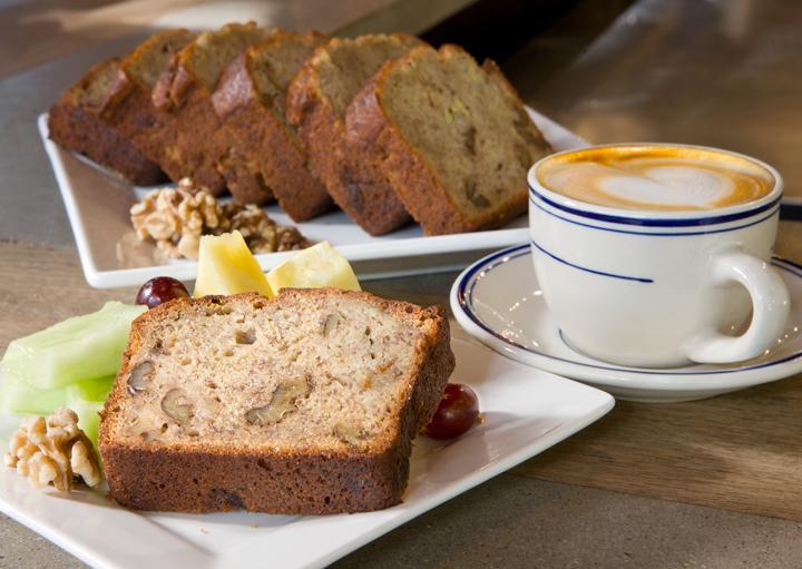 Banana Walnut Bread for Tea Time