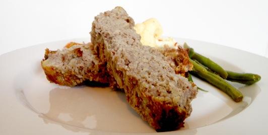 Recipe Banana Meat Loaf